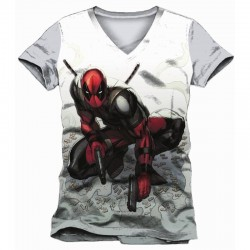 DEADPOOL - T-Shirt Bullet Sleeves (S) 159417  T-Shirts