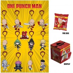 ONE PUNCH MAN - Display 24 Keychains Figure 6Cm - Wave 2 159751  Sleutelhangers