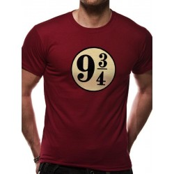 HARRY POTTER - T-Shirt IN A TUBE - Platform 9 3/4 (XL)