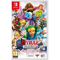 Hyrule Warriors Definitive Edition - SWITCH  166103  Nintendo Switch