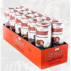 AVENGERS Powerfruit Punch - Tray 12 Cans 355ml 166409  Allerlei