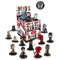 STAR WARS The Last Jedi - Mystery Minis Ass 1 (BOX 12 Figurines) 166584  Speelfiguur