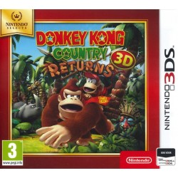 Donkey Kong Country - SELECT - 3DS  167272  Nintendo 3DS