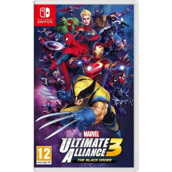 Marvel Ultimate Alliance 3 : The Black Order - SWITCH  175212  Nintendo Switch