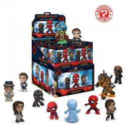 MARVEL - Mystery Minis - Spiderman - Far from Home (BOX 12 Figurines)