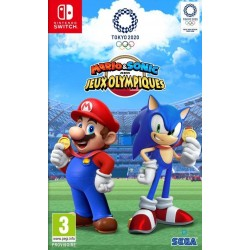 Mario & Sonic aux Jeux Olympiques Tokyo 2020 - SWITCH  175906  Nintendo Switch
