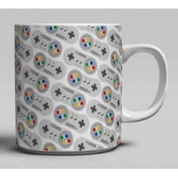 NINTENDO - Mug - 300 ml - Super NES Controller 164949  Drinkbekers - Mugs