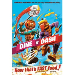 FORTNITE - Poster 61X91 - Dine N Dash 180427  Posters