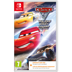 CARS 3 ( CODE IN BOX ) - SWITCH  190159  Nintendo Switch