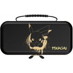 POWER A - Protection Case Pikachu Black/Gold for Nintendo Switch 186138  Nintendo Switch Accessoires