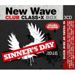 New Wave Classix (3CD) Sinners Day 2018 3599  CD's