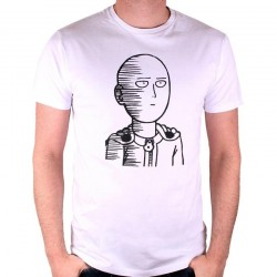 ONE PUNCH MAN - T-Shirt Saitama Draw (XXL) 164888  T-Shirts One Punch Man