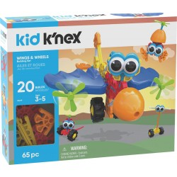 KID K AND aposNEX Wings AND Wheels Building Set 744476856197 knex knex