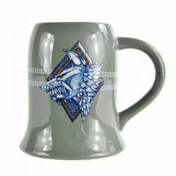 WARHAMMER - Tankard Mug - 500ml - Space Wolves 164828  Drinkbekers - Mugs