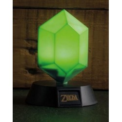 ZELDA - Green Rupee 3D Mini Light - 10cm 164705  Deco, Wand, Kamer & Nacht Lampen