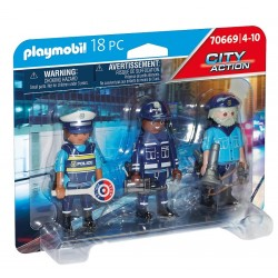 Playmobil City Action Figurenset politie 4008789706690 playmobil speelgoed- en feestartikelen
