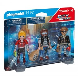 Playmobil City Action Figurenset boeven 4008789706706 playmobil speelgoed- en feestartikelen