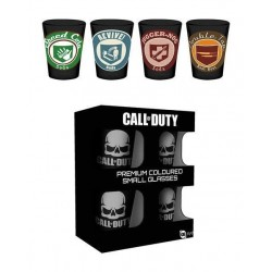 CALL OF DUTY - Premium Coloured Shot Glass - Perks 164566  Glas Canvas