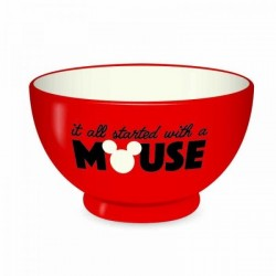 DISNEY CLASSIC - Bol 500 ml - It All Started With A Mouse 164544  Kommen