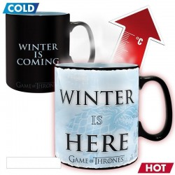 GAME OF THRONES - Mug Heat Change 460 ml - Winter is Here 164539  Game of Thrones