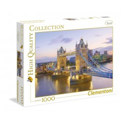 Clementoni Puzzel High Quality 1000 stukjes Tower Bridge 8005125390229 clementoni Puzzels