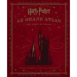HARRY POTTER - Le Grand Atlas - La Magie au Cinéma 164369  Boeken