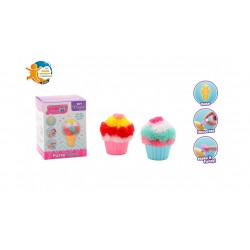 Fluffy Puffers Ice cream and Cupcake 8711866276486 johntoy speelgoed- en feestartikelen