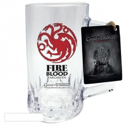 GAME OF THRONES - Tankard - Targaryen 164238  Glazen