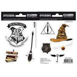 HARRY POTTER - Stickers - 16x11cm / 2 planches - Magical Objects