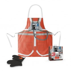 STAR WARS - Apron and Oven Mitt - Luke Pilot (PLASTIC BOX) 163968  Keuken Schorten