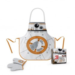STAR WARS - Apron and Oven Mitt - BB-8 (PLASTIC BOX)