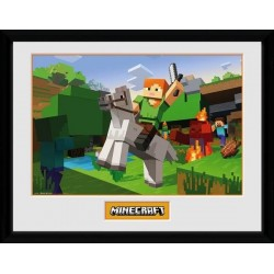 MINECRAFT - Collector Print 30X40 - Zombie Attack 163919  Posters