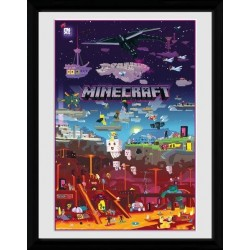 MINECRAFT - Collector Print 30X40 - World Beyond 163917  Posters