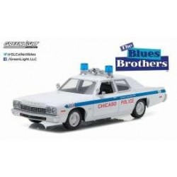 BLUES BROTHERS - 1975 Dodge Monaco 1:24 163880  Miniatuur Auto's