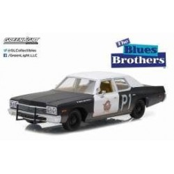 BLUES BROTHERS - 1974 Dodge Monaco 1:24 163879  Miniatuur Auto's