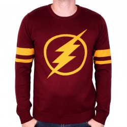 DC COMICS - Pull Over - Flash Logo (XXL) 163837  Pull-Over - Truien