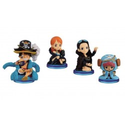 ONE PIECE - Figurine WCF Straw Hat Pirates - Assort. 4 Characters 163745  Figurines