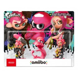 AMIIBO Splatoon Octopling Tri Pack
