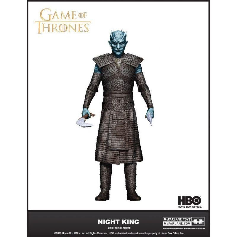 GAME OF THRONES - Action Figure - The Night King - 18cm 170723  Game Of Thrones