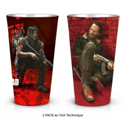 WALKING DEAD - Rick and Daryl - 2 Pack Pint Glass Set