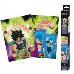 DRAGON BALL BROLY - Broly - Set 2 posters '52x38' 194704  Allerlei