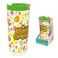 ANIMAL CROSSING - Stainless Steel Koffiebeker to go 425ml