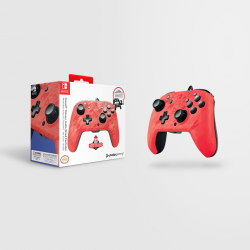 Official Faceoff Deluxe+ Audio Wired Red Controller - New Design 174214  PC Controllers
