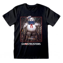 GHOSTBUSTERS - Stay Puft Square - T-Shirt (S) 195025  T-Shirts