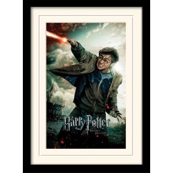 HARRY POTTER - Mounted & Framed 30X40 Print - Deathly Hallows Wand 193275  Posters