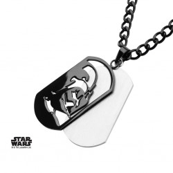 STAR WARS - Darth Vader Layer Dog Tag Pendant with Chain 163429  Honden Leibanden