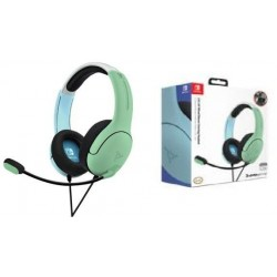 Official Nintendo Wired Headset LVL40 Switch Blue & Green 195218  Switch Headsets