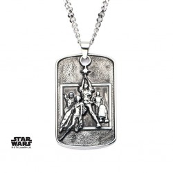STAR WARS - Poster Relief Dog Tag Pendant comes with Chain 163427  Allerlei