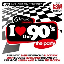 I Love The 90s - Home Party (3CD) 3699  CD's