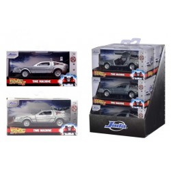 BACK TO THE FUTURE - Time Machine - 1:32 Assortment 6 pcs (3+3) 195735  Allerlei